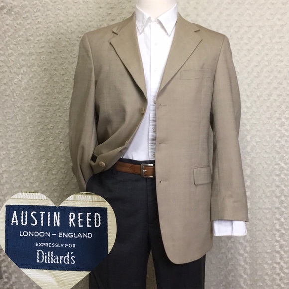 Austin Reed Other - Austin Reed Sport Blazer Jacket Three Buttons 40R